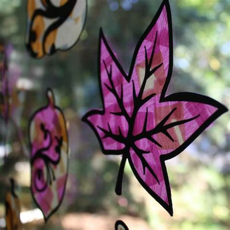 stained glass paper craft 61 best fall arts and crafts ideas images on