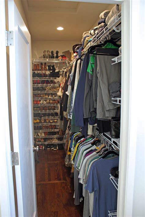narrow walk in closet 17 best ideas about narrow closet on
