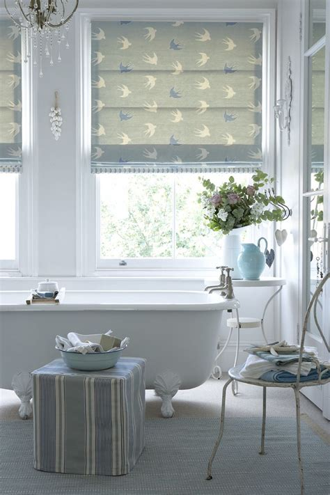 Bathroom Blind Ideas by Blind In Dive Duck Egg And Speedwell With