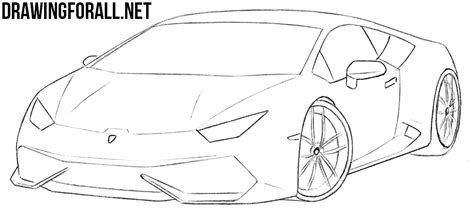 how to draw a car 8 steps with pictures wikihow how to draw a sports car step by step drawingforall net
