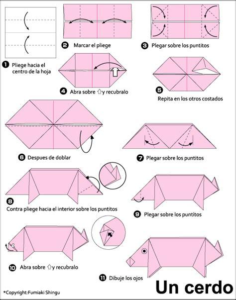 origami pigs origami pig