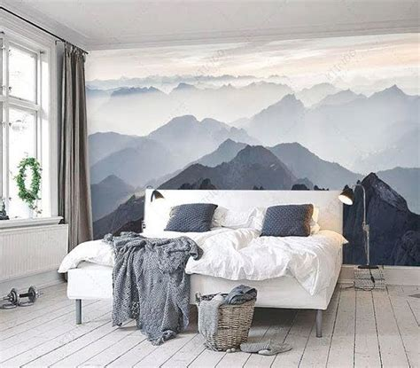 bedroom mural ideas best 25 mountain bedroom ideas on lodge