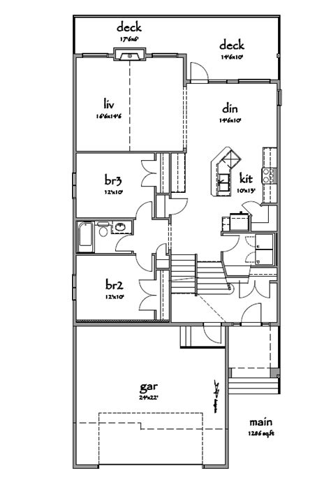 bi level floor plans modified bi level house plans canada