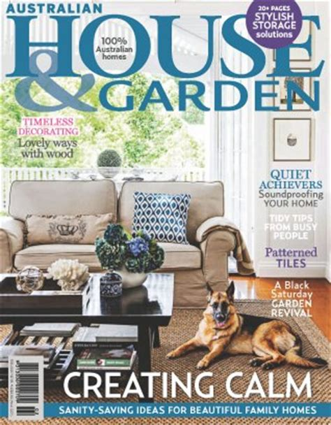 house and home magazine australian house garden magazine february 2015 issue