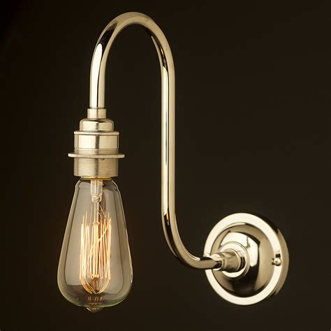 nickel doncaster bend wall light