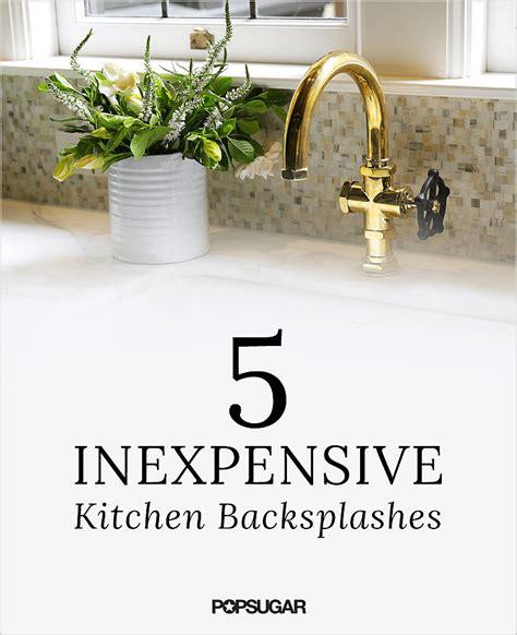 Kitchen Organization Ideas Budget diy kitchen backsplashes popsugar home