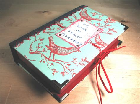 make a book with pictures make a book treasure box
