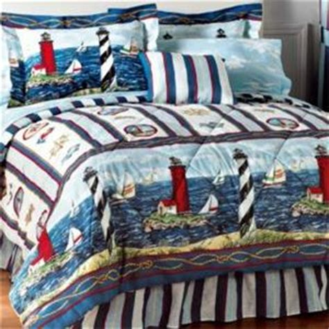lighthouse comforter sets new lighthouse comforter sheet set bed in a bag