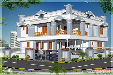 2 floor house 4 bedroom 2881 sq 2 floor home design kerala home design and floor plans