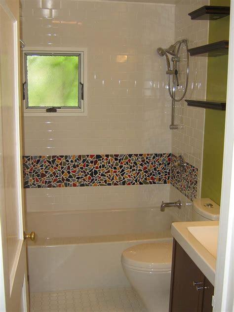 bathroom borders ideas mosaic tiled bathrooms ideas kezcreative