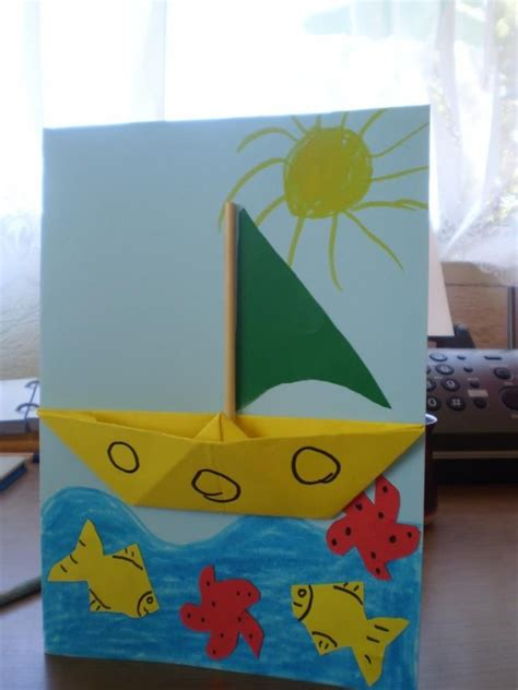 boat crafts for boat craft activities pictures