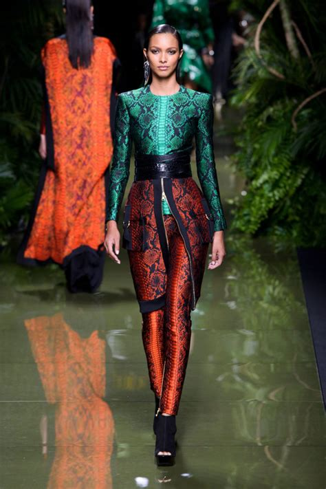 Spring 2017 paris fashion week 10 best looks from balmain spring 2017