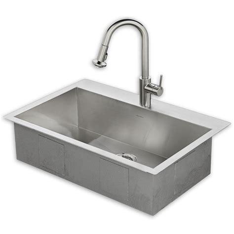 kitchen sink kit 33x22 kitchen sink kit with faucet american standard