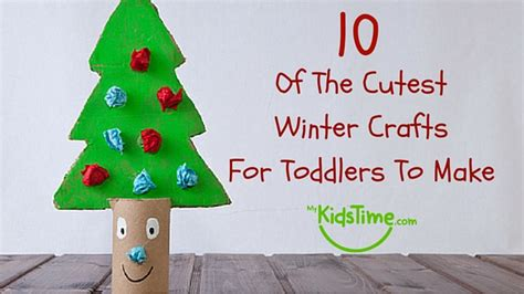 crafts for to make for 10 of the cutest winter crafts for toddlers to make