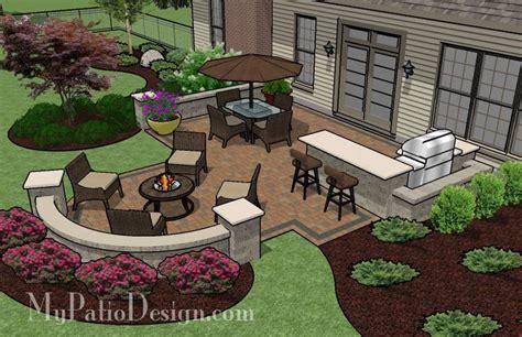 designer patios patio for backyard entertaining outdoor fireplaces