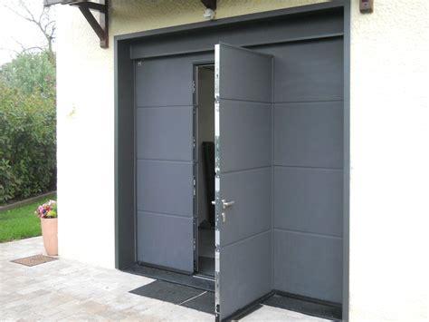 porte de garage sectionnelle motoris 233 e hormann 224 lyon acces creation fermetures