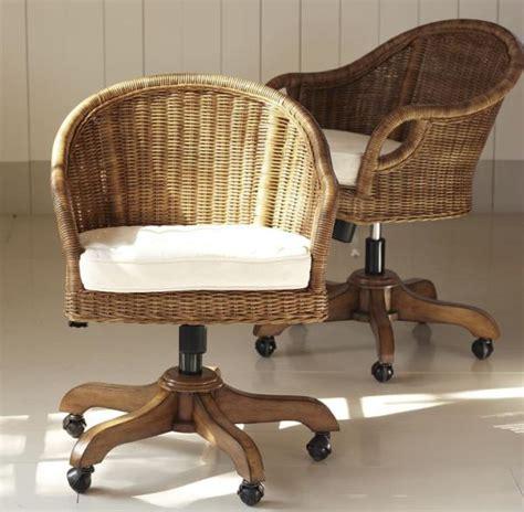 rattan swivel chairs charming wingate rattan swivel desk chair source information