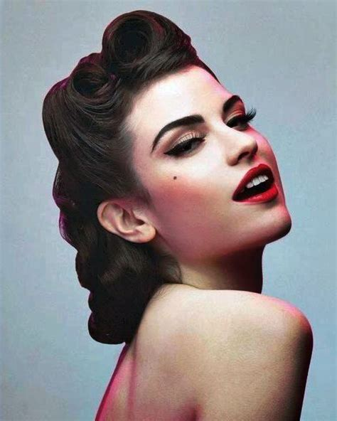 skunk haircuts of 50s and 60s the 25 best ideas about 50s hair tutorials on pinterest