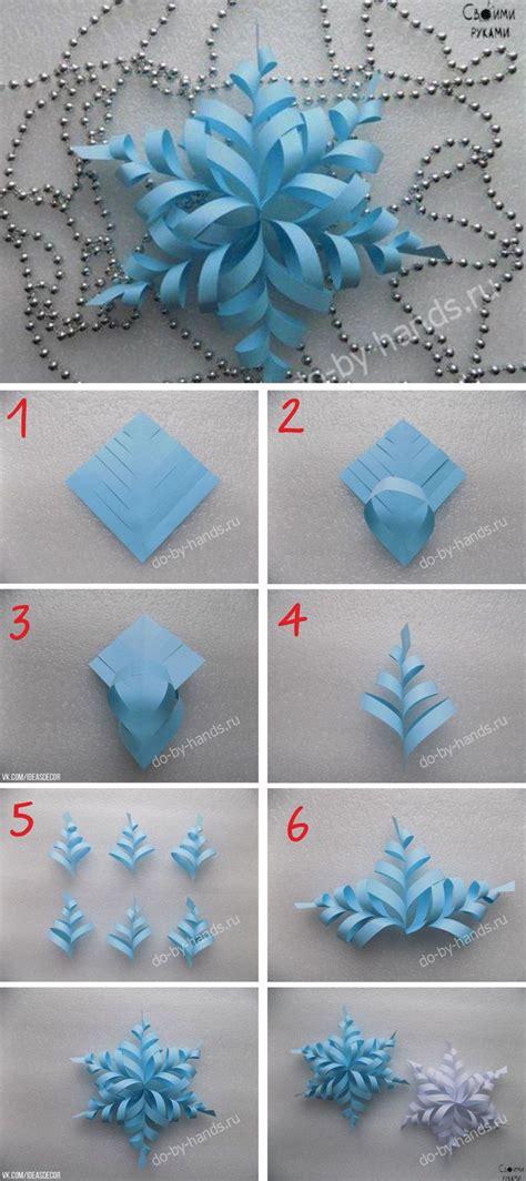 snowflake paper crafts 25 unique 3d paper snowflakes ideas on paper