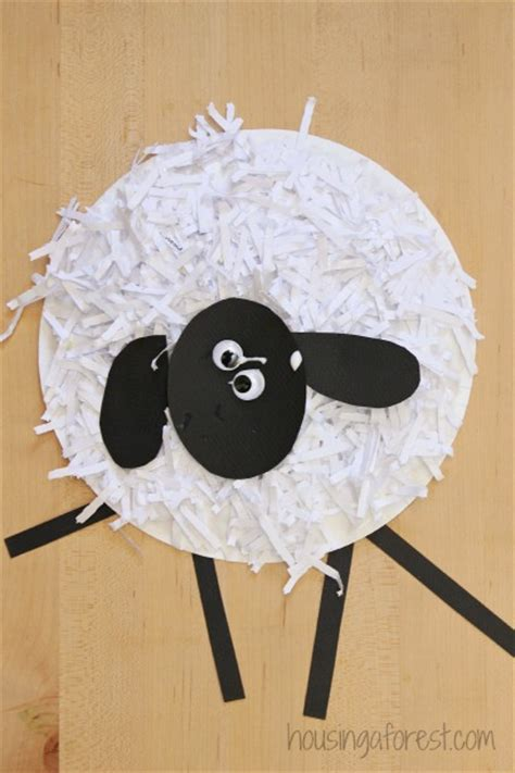 how to make paper plate crafts paper plate sheep craft ye craft ideas