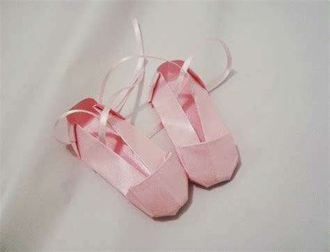how to make origami shoes origami ballet shoes easy origami for