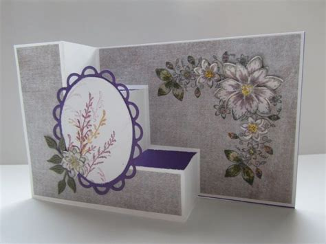 paper crafts cards tri step card by pandarina cards and paper crafts at