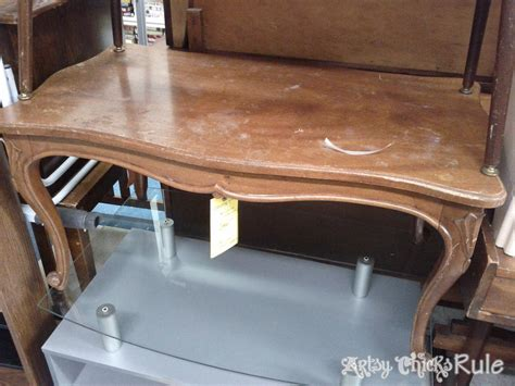 chalk paint espresso color thrift store coffee table transformed with chalk paint