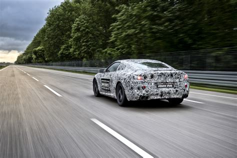 Bmw Future by Camouflaged Early Prototype Of The Future Bmw M8