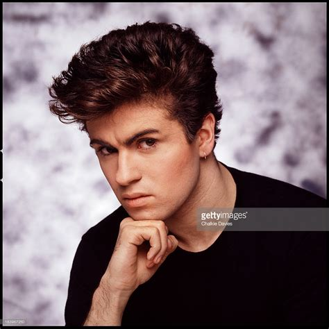 singer george michael of wham 1983