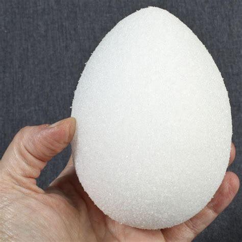 4 3 4 Quot White Styrofoam Egg Styrofoam Basic Craft