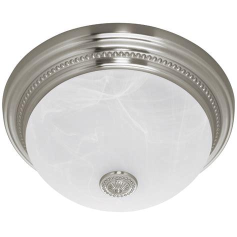 bathroom fan lights harbor quot brushed nickel quot bathroom fan w light