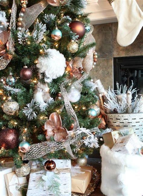 modelos de decoraciones de arboles de navidad 40 ideas para decorar el 193 rbol de navidad decoracion de