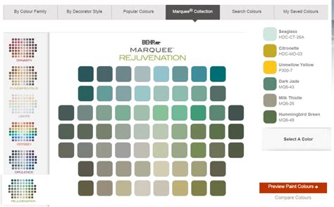 paint colors for behr the best free paint color software 5 options