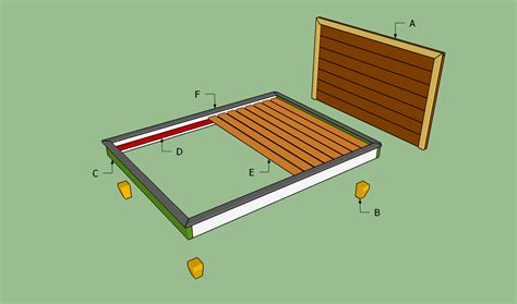 how to build bed frame how to build a platform bed frame howtospecialist how