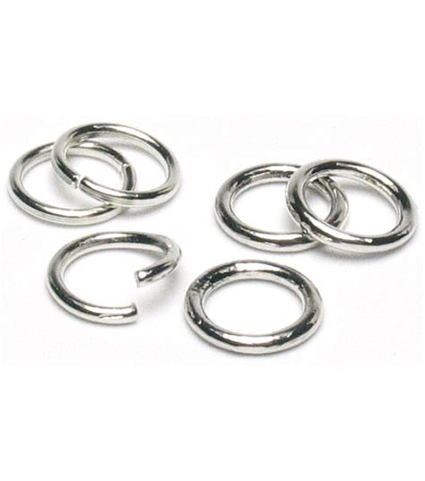 jump rings for jewelry jewelry basics 8mm jump rings 200 pk silver jo