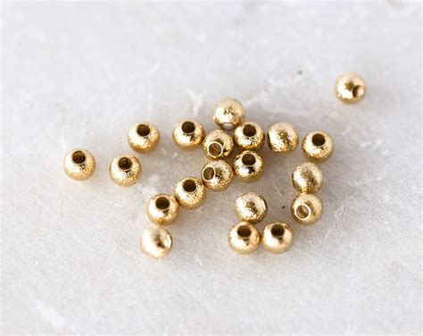 bead spacers 2010 gold bead spacers 4mm gold plated