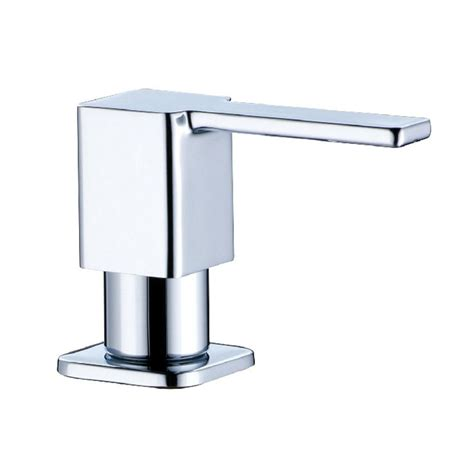 kitchen sink with soap dispenser square stainless steel soap dispenser fit for kitchen sink