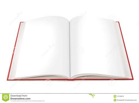 picture of an open book with blank pages open book with blank pages stock photo image 15726870