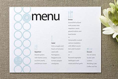 how to make menu card for restaurant how to make a menu calendar template 2016