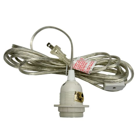 cord light socket single socket pendant light cord kit for lanterns 11ft