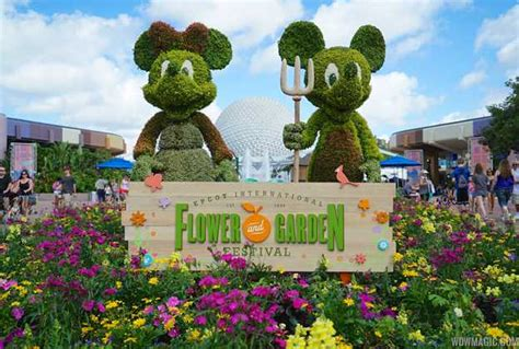 flower and garden festival new outdoor kitchens and topiaries to join the 2017 epcot