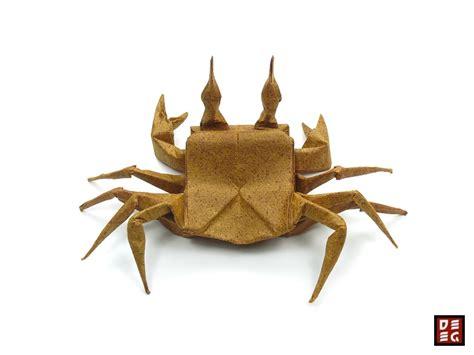 crab origami origami ghost crab by origamikuenstler on deviantart