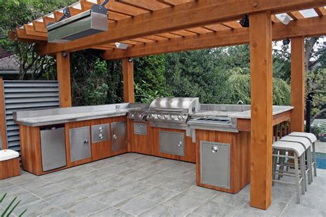 back yard kitchen ideas 5 ideas to decide an outdoor kitchen design modern kitchens
