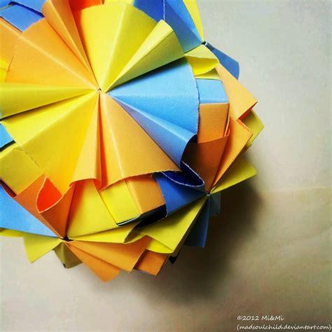 modular origami sonobe modular origami waltz sonobe 1 by madsoulchild on deviantart