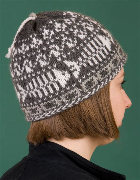 knitted skull hat pattern fishbones skull cap knitting patterns and crochet