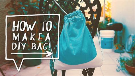 how to make bag diy drawstring bag how to make a diy backpack for school