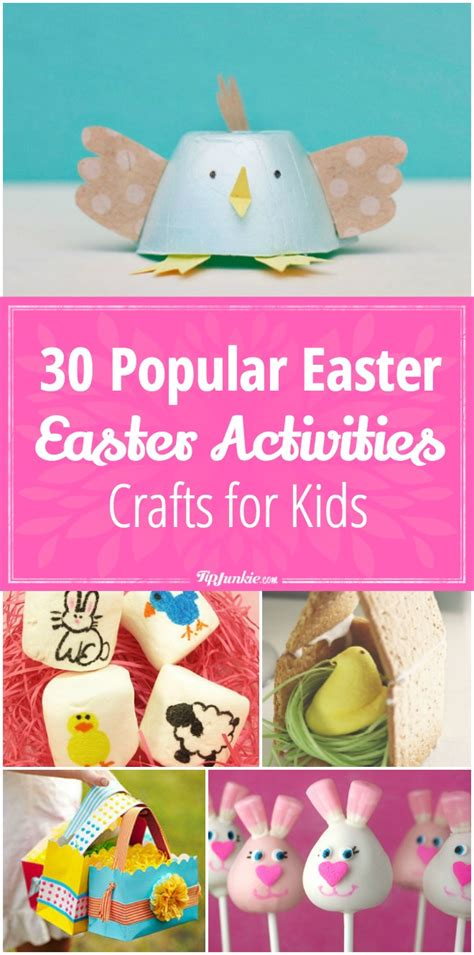 popular crafts 30 popular easter activities and crafts for tip junkie