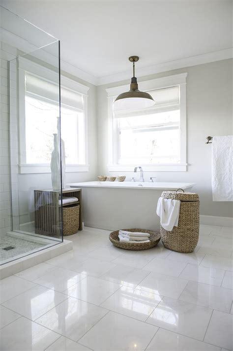 White Tile Bathroom by Best 25 White Tile Floors Ideas On White