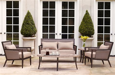 brown and outdoor furniture brown patio furniture