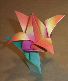 origami stem and leaf 1000 images about origami flowers on origami